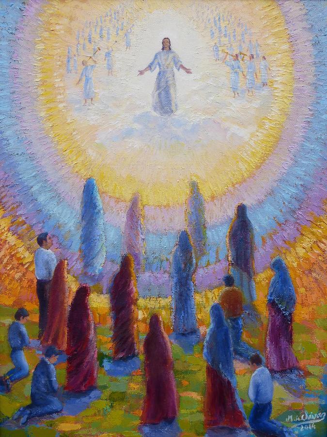 Jesus Second Coming Painting : jesus, second, coming, painting, Second, Coming, Jesus, Christ, Painting, Miguel, Chavez