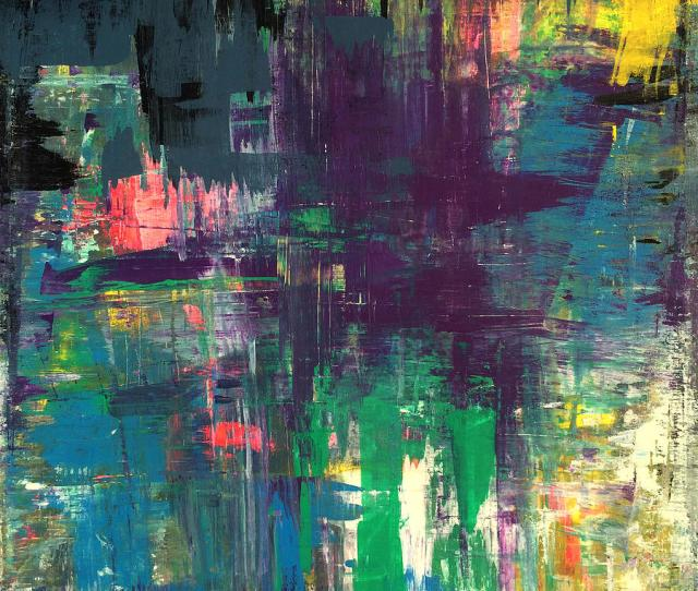 Seize The Day X Print Abstract Painting Modern Art Original Painting By Robert R Splashy Art Abstract Paintings