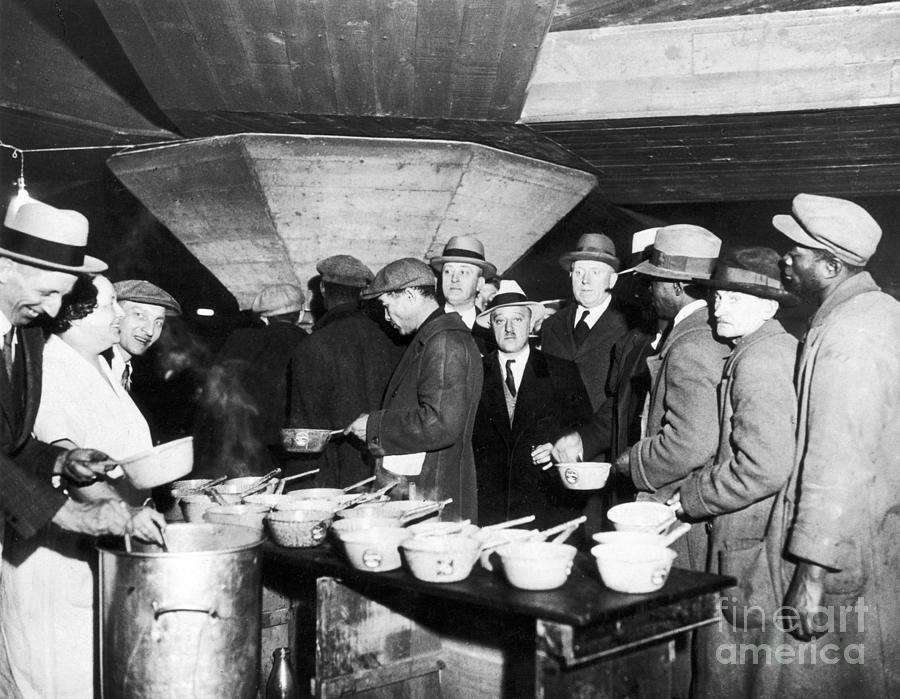 Soup Kitchen 1931 Photograph by Granger