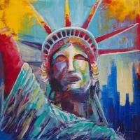 Statue Of Liberty Usa Wall Art New York City Lady Liberty ...