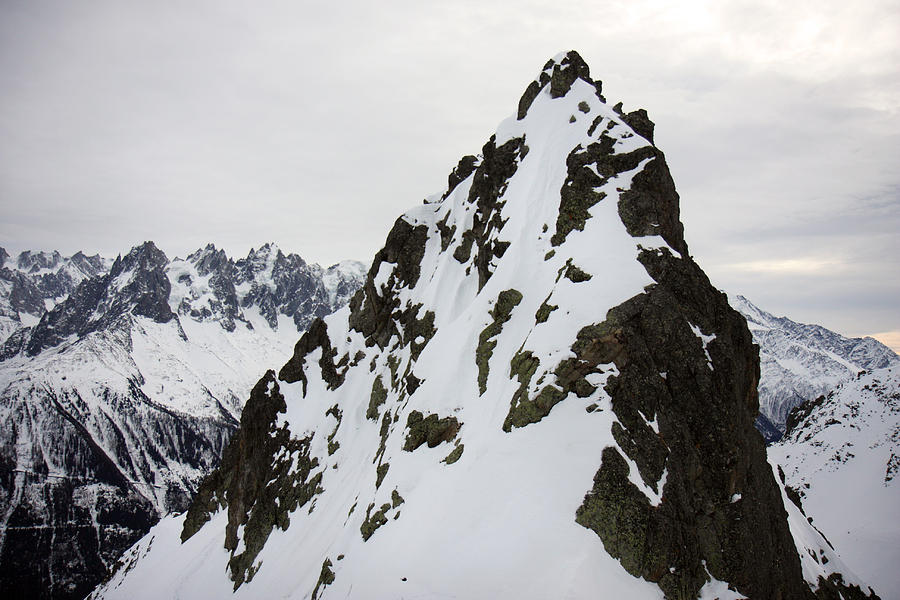 Steep Mountain Chamonix France Photograph By Pierre