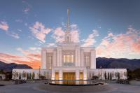 Sunrise On The Ogden Utah Lds Temple Photograph by Scott Law