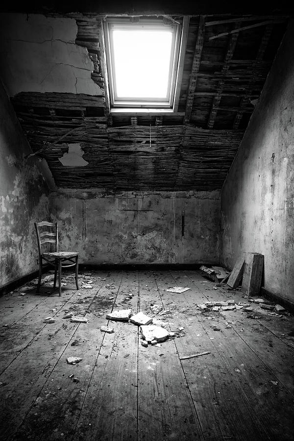 canvas beach chair office posture buy take a seat and tell your story - lonely urbex photograph by dirk ercken