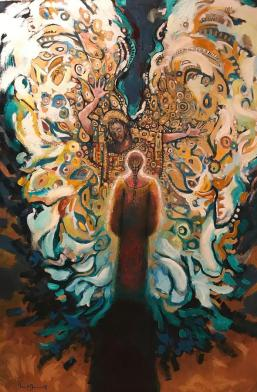 The Annunciation II Painting by Daniel Bonnell
