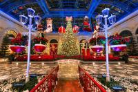 The Bellagio Christmas Tree And Decorations 2015