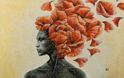 Thought Painting by Eurika Urbonaviciute