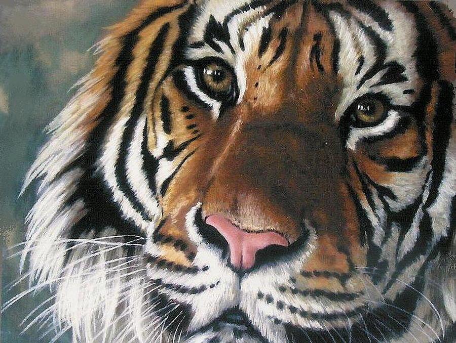Tigger Painting By Barbara Keith
