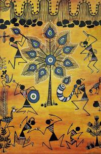 Tribals II Painting by Ivy Sharma