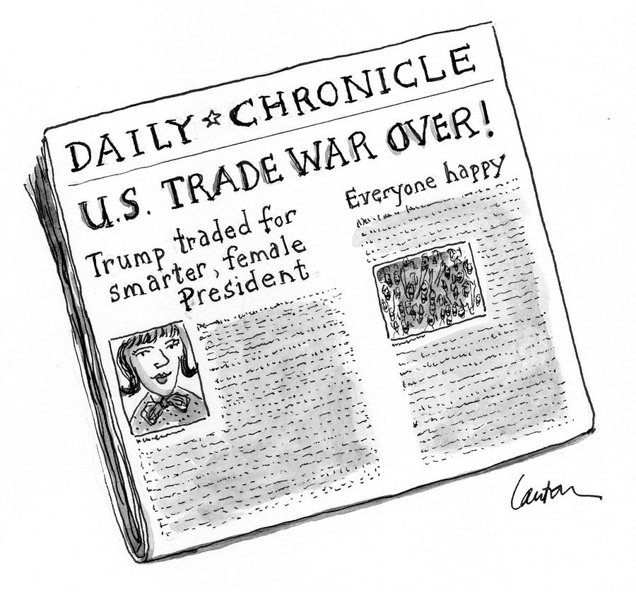 Us Trade War Over by Mary Lawton