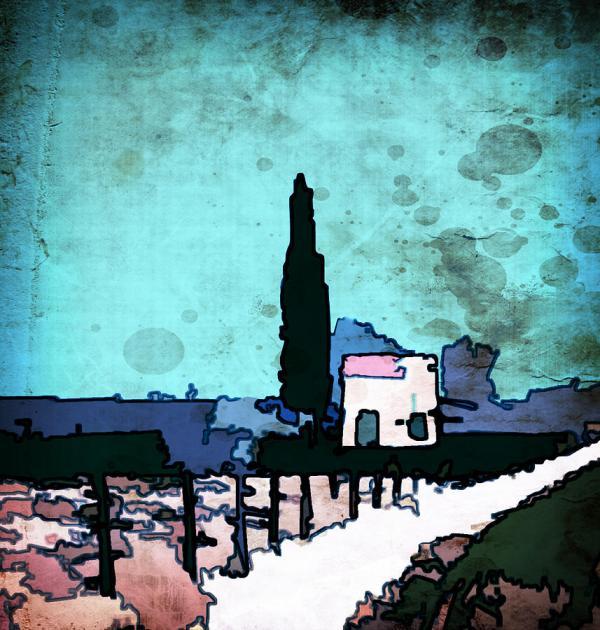 Van Gogh 1 Digital Art Line Dubois