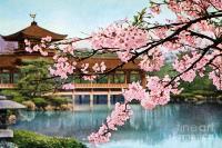 Vintage Japanese Art 12 Painting by Hawaiian Legacy ...