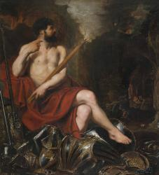 Vulcan and Fire Painting by Peter Paul Rubens