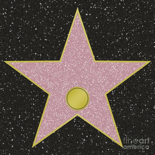 Walk of Fame Star Template