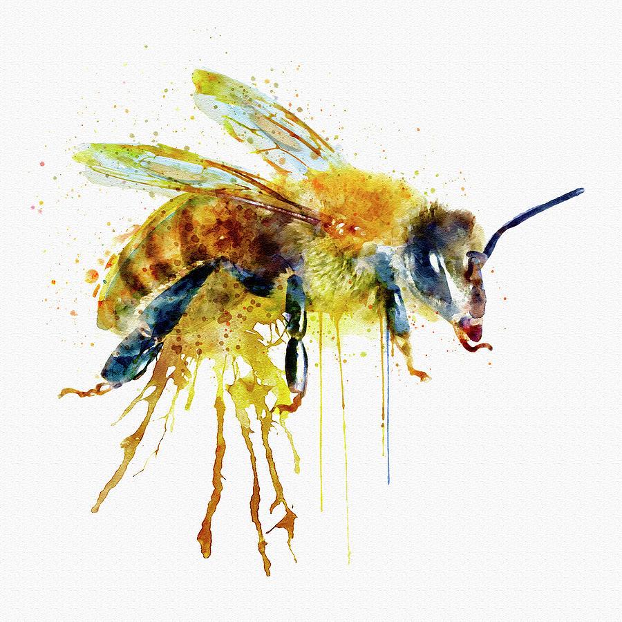 Bumble Bee Wall Decor Metal Art