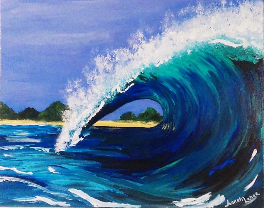 wave by jennah lenae