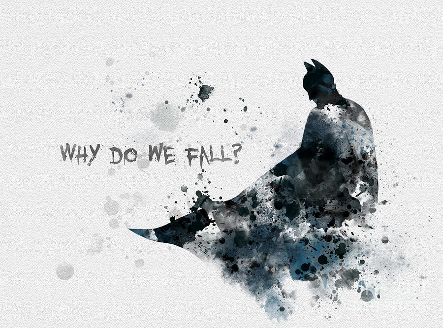 Why Do We Fall Wallpaper Why Do We Fall Mixed Media By Rebecca Jenkins