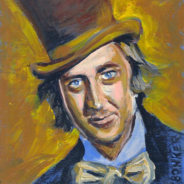 Willly Wonka Painting Buffalo Bonker