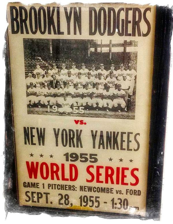 Yankees And Dodgers World Series 1955 Photograph by Image