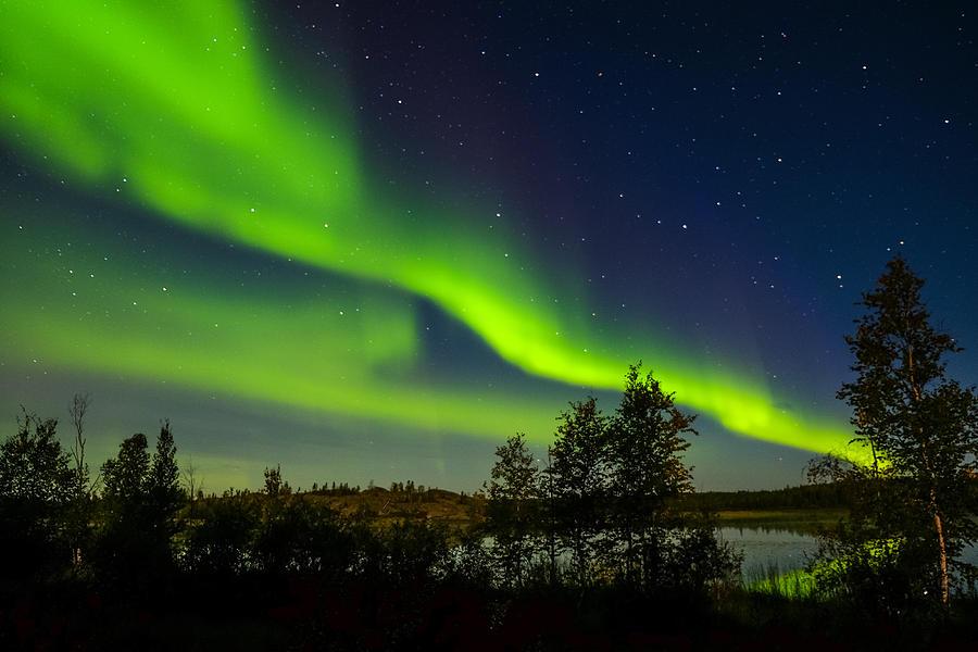 Yellowknife Aurora Series 1 Photograph by John McArthur