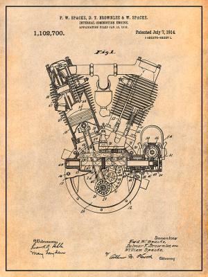 Antique V Twin Engine Diagram | Online Wiring Diagram