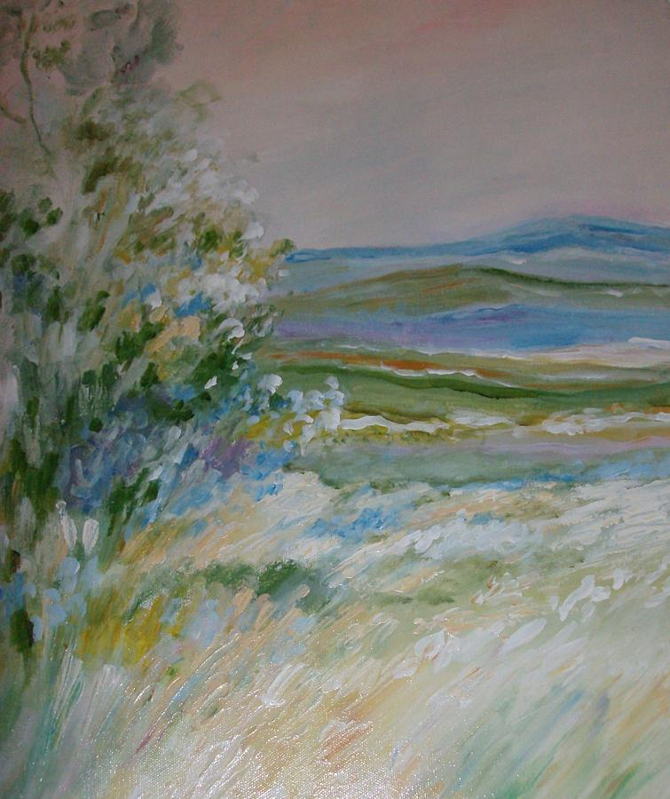 abstract pastel by jan