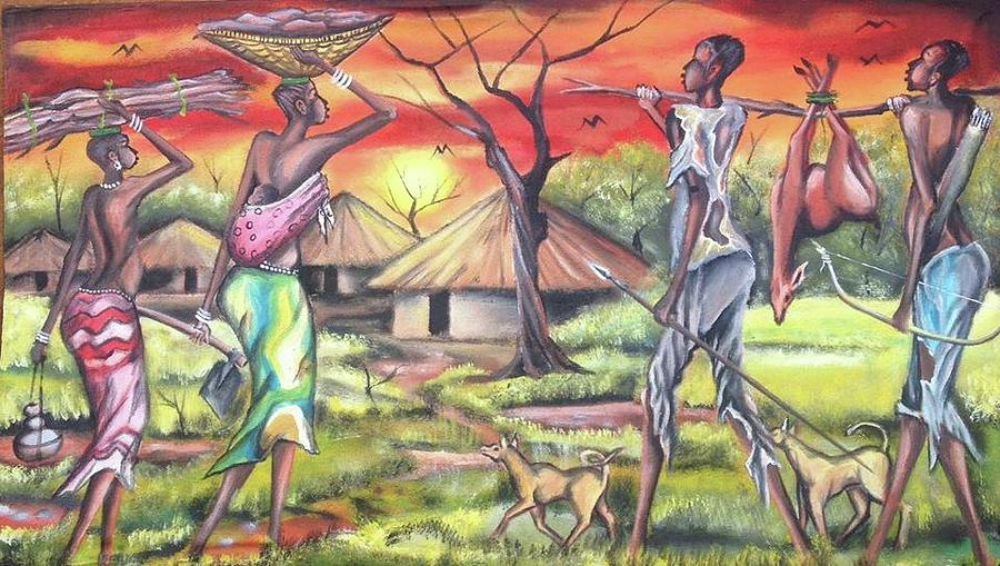 african art by cent