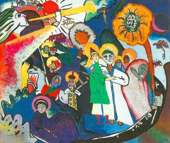 All Saints Painting by Wassily Kandinsky