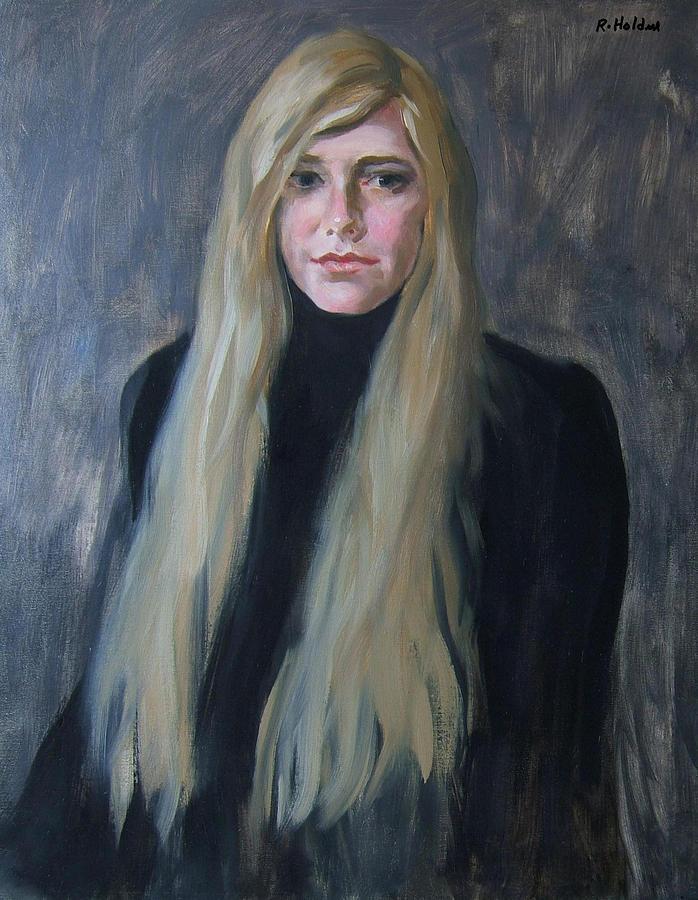 Blonde Painting : blonde, painting, Blonde, Black, Painting, Robert, Holden