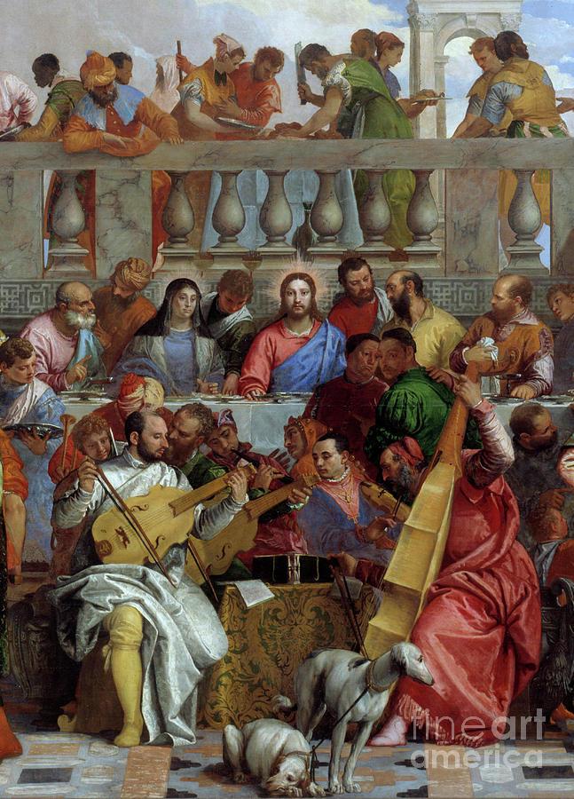 "Cana'Da Düğün ""The Wedding at Cana"" - Veronese"