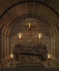 fantasy temple interior altar caids ados candles digital fantasia altaar het met altare tempel fantasie tempiale steen lantaarns candele crani
