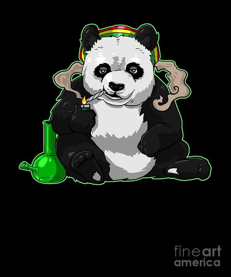 Funny Stoner Pictures : funny, stoner, pictures, Funny, Panda, Smoking, Cannabis, Marijuana, Stoner, Print, Digital, Designs, SuaMaceir