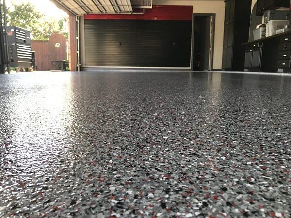 Garage Floor Epoxy Colors Photograph By Anabell Wilson