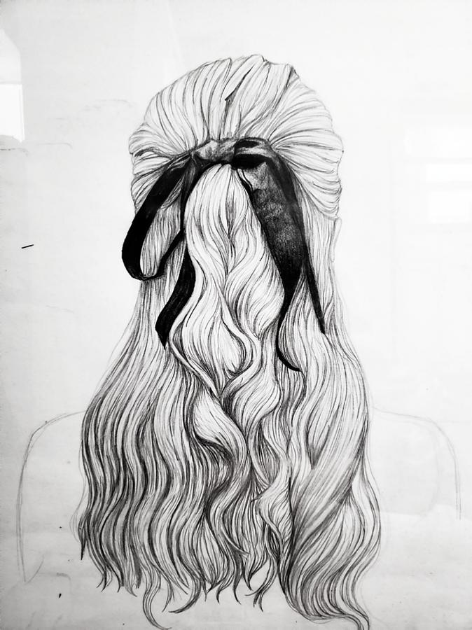 Hair Bow Drawing at PaintingValley.com   Explore