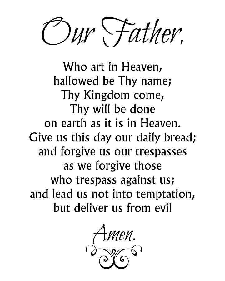 lord s prayer our