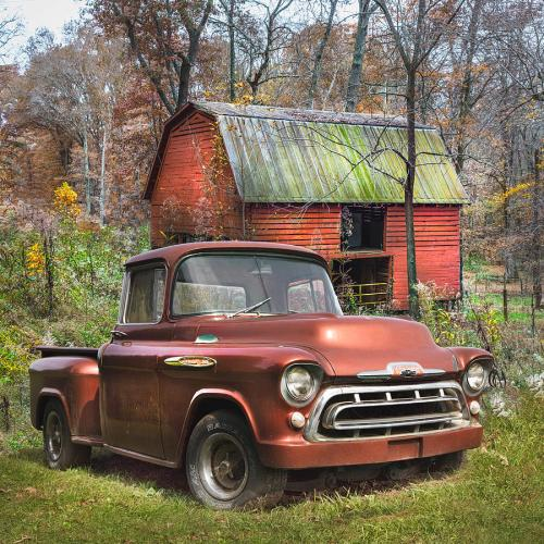 small resolution of 1957 photograph love that rusty red 1957 chevy truck by debra and dave vanderlaan