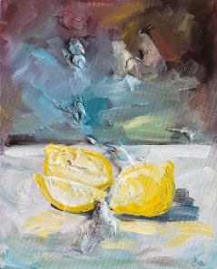 When Life Gives You Lemons Painting by Katrina Case