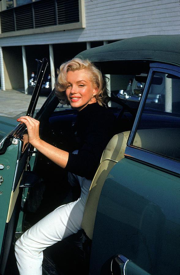 Marilyn Monroe Car : marilyn, monroe, Marilyn, Monroe, Getting, Alfred, Eisenstaedt