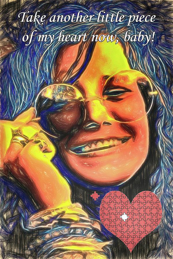Janis Joplin Piece Of My Heart : janis, joplin, piece, heart, Piece, Heart, Digital, Haldane