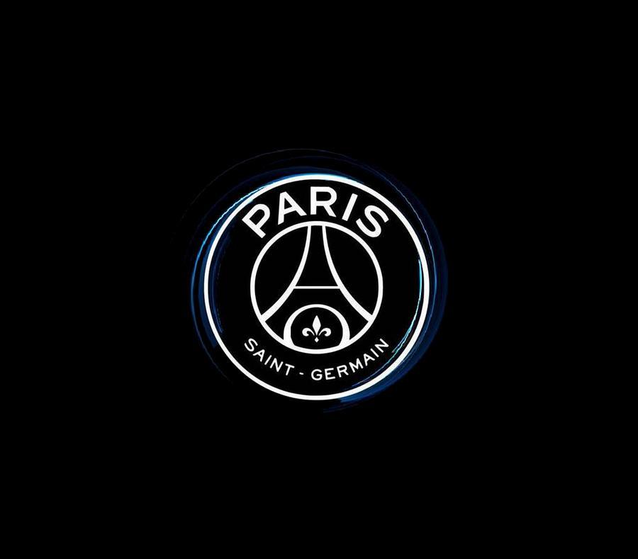 psg logo black by nisa keyla