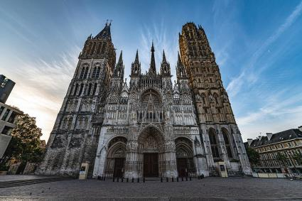 Rouen Cathedral Photograph by Randy Scherkenbach