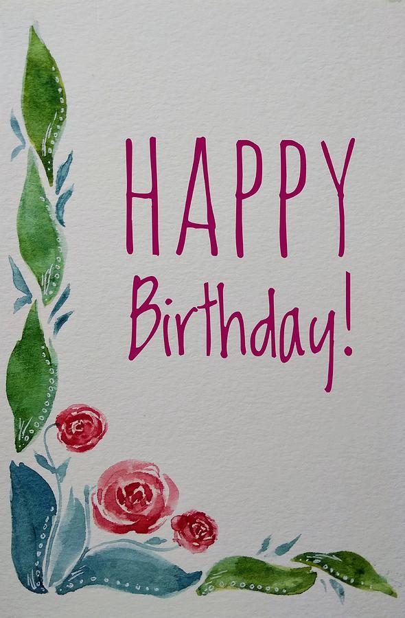 Birthday Card Painting : birthday, painting, Birthday, Painting, Christina, Winkelstraeter