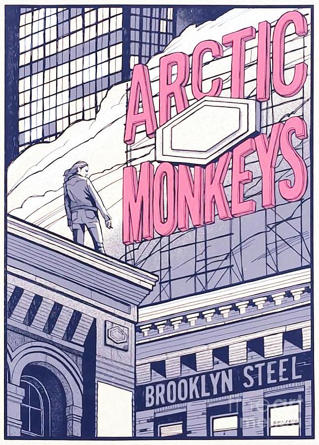 arctic monkey brooklyn steel by esti diania