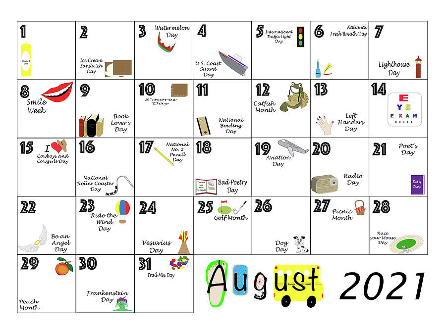 However, some important events and dates are celebrated in the us. August 2021 Quirky Holidays and Unusual Celebrations ...