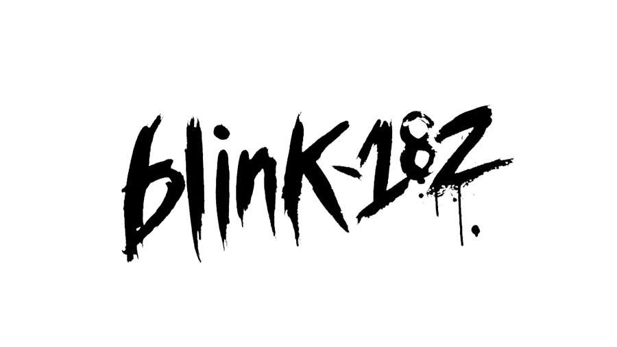 BLINK 182 LOGO Punk Rock Group Digital Art by Music N Film