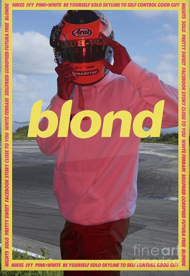 frank ocean blond by fujuko haridau