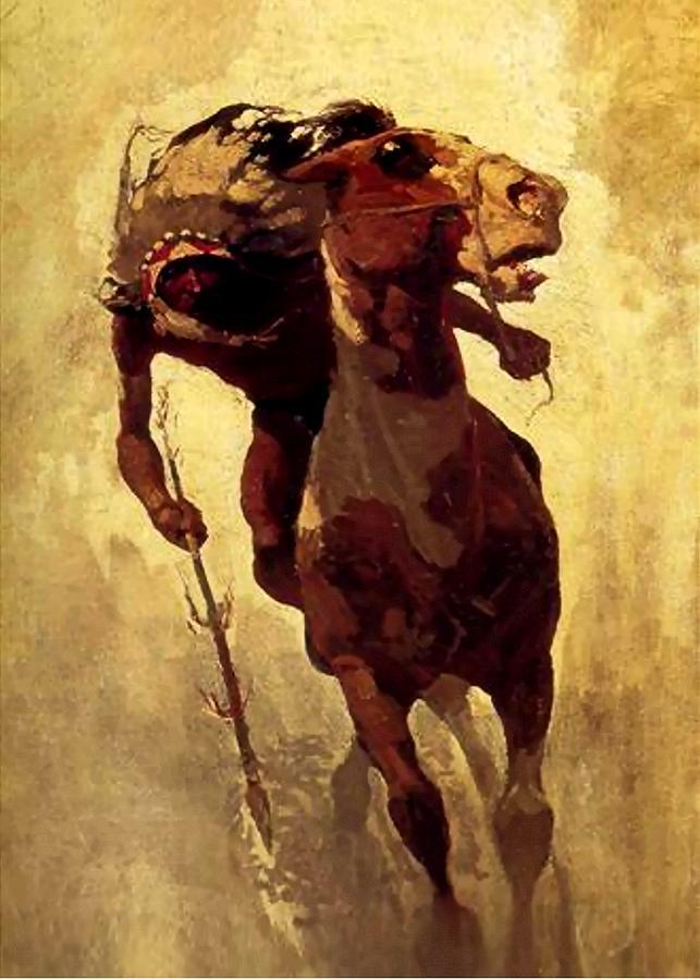 N. C. Wyeth : wyeth, Indian, Lance, Digital, Wyeth