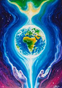 Image result for Peace on earth painting