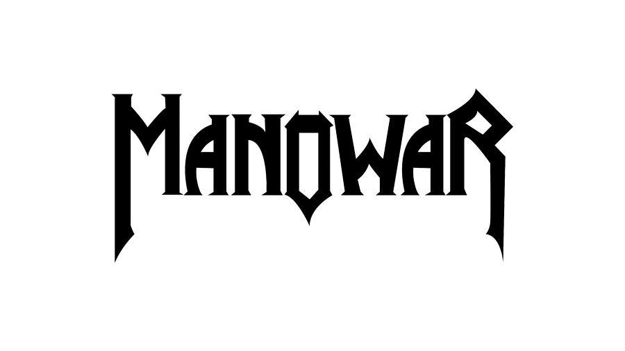 MANOWAR LOGO Heavy Metal Band Digital Art by Music N Film