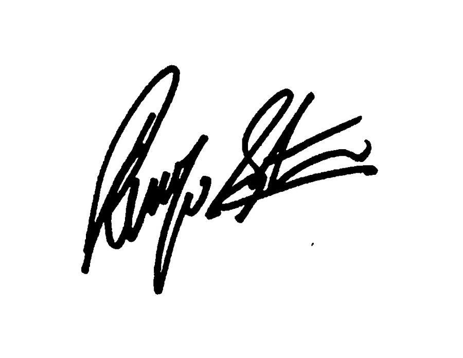 Ringo Starr Signature Autograph Sign Firma Autografo The