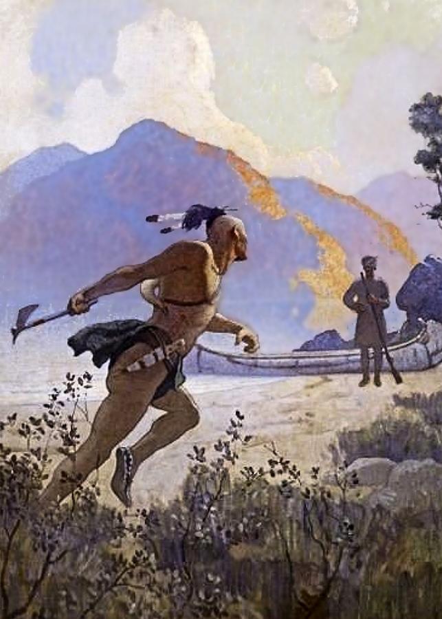N. C. Wyeth : wyeth, Tomahawk, Digital, Wyeth
